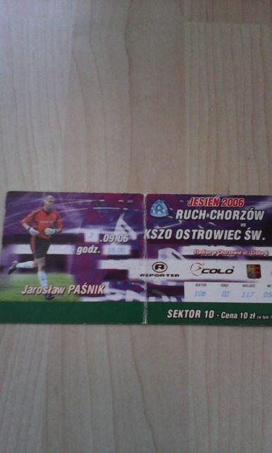 Ruch Chorzów -Kszo Ostrowiec 2.09.2006