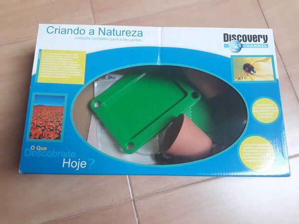 Brinquedo científico Criando a Natureza - jardim (Discovery) NOVO