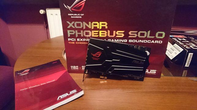 Karta muzyczna Asus Xonar Phoebus Solo 7.1 118dB!