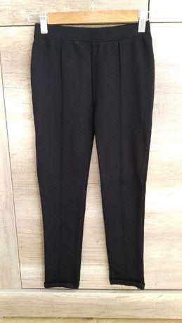 Spodnie legginsy 140 dziewczęce NUTMEG czarne
