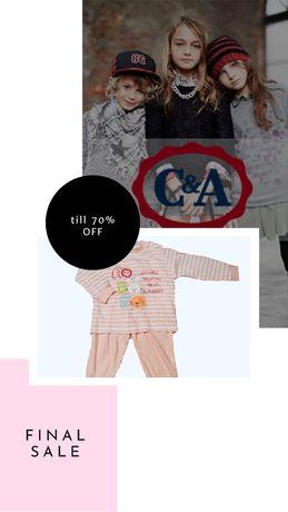 Дитячі піжами Baby Club C&A