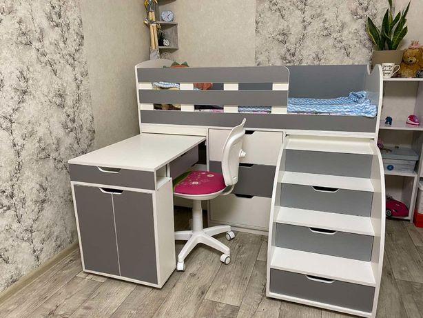 Детская кровать кровать-чердак