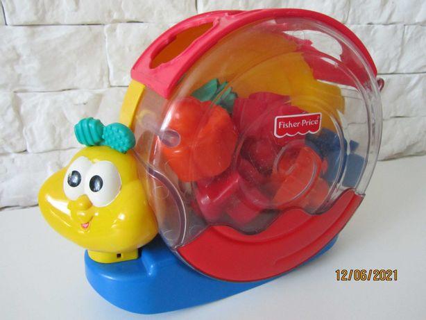 Развивающая игрушка Fisher-Price Музыкальная улитка