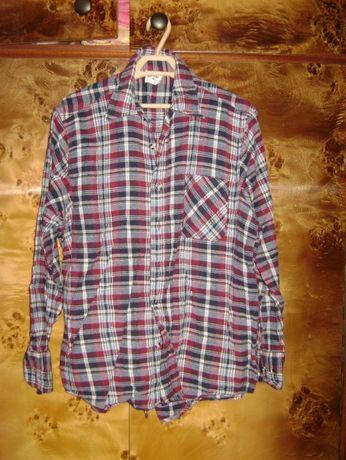 Flanelowa koszula M