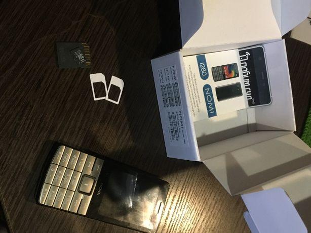 Мобильный телефон Nomi i280 Metal Dark Grey