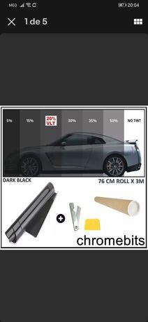 Película de vidros/papel de carbono