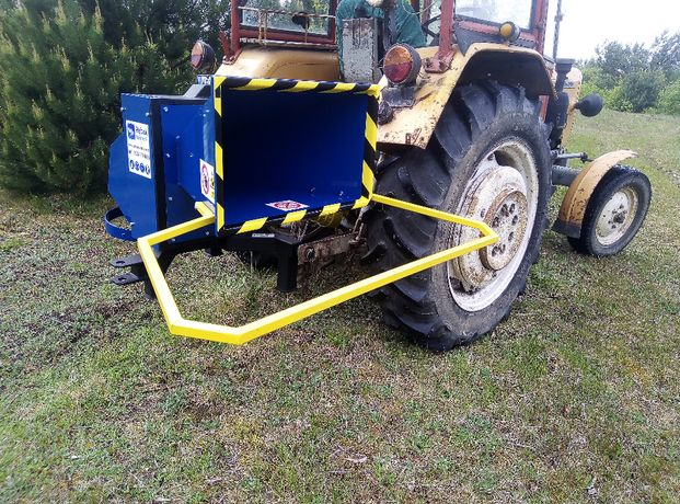 NOWY Model rębak W102- do gałęzi- film z pracy do traktora c330 t25