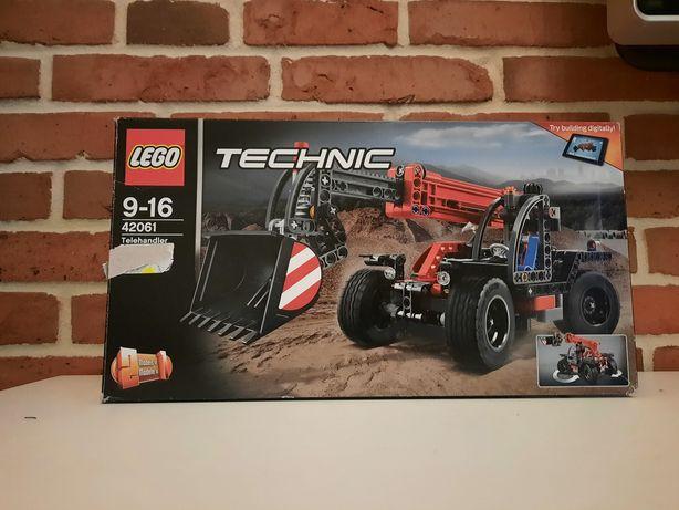 LEGO TECHNIC 42061 Ładowarka teleskopowa 2 w 1