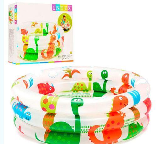 Детский бассейн для самых маленьких 61×22см, 33л