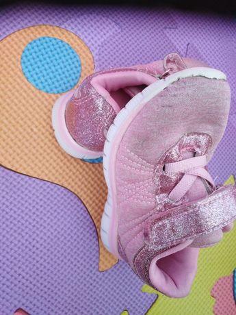 Buty 22 dziewczynka różowe adidasy
