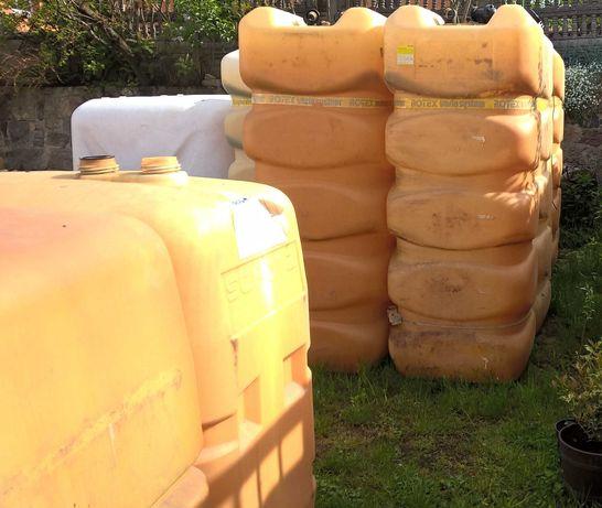Zbiornik 1000 l/ na deszczówkę, szambo, kompost, oczko wodne, paliwo