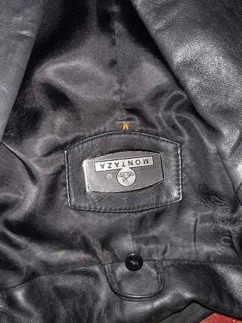 Пиджак еко кожа ,черный montaza