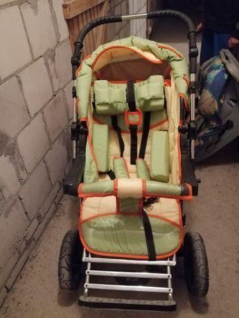 Wózek dziecięcy inwalidzki specjalny