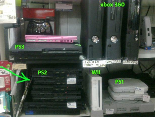 PS3 прошитая 320Gb,Продажа/Обмен. Магазин. Маяк. М27.