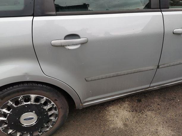 Drzwi prawe tylne Ford C-max lakier D1 Stan BDB