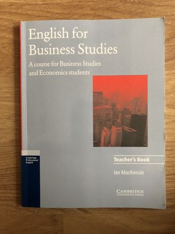 Economics English for Business Teacher's Book Ian Mackenzie Angielski