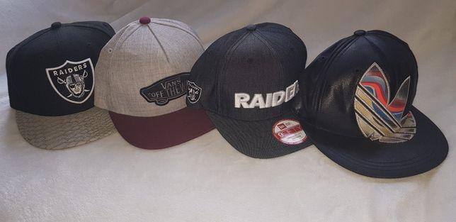 Czapki Fullcap Raiders , Vans , Adidas