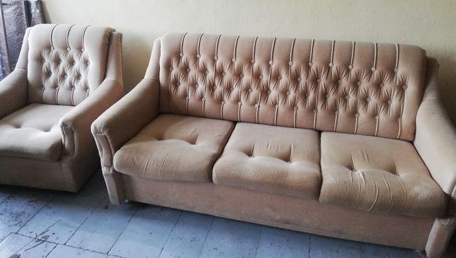 Wypoczynek z dwoma fotelami