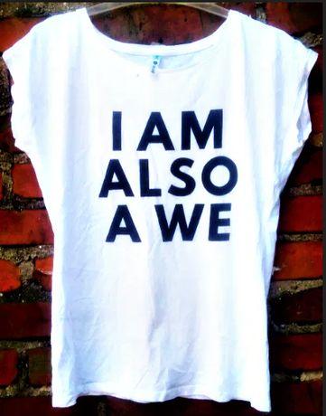 Blogerska koszulka z napisem