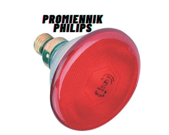 Promiennik podczerwieni czerwony 175 W , PHILIPS