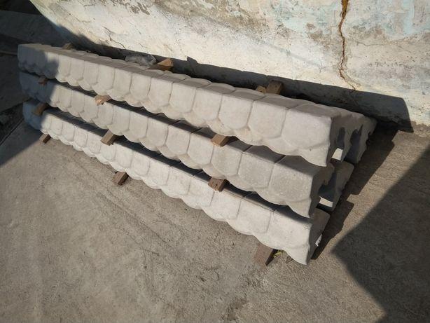 забор бетонный секционный цена