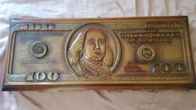 Нарды в виде 100$