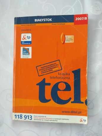Książka telefoniczna Białystok 2007/2008
