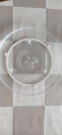 Talerz i wózek do mikrofalówki