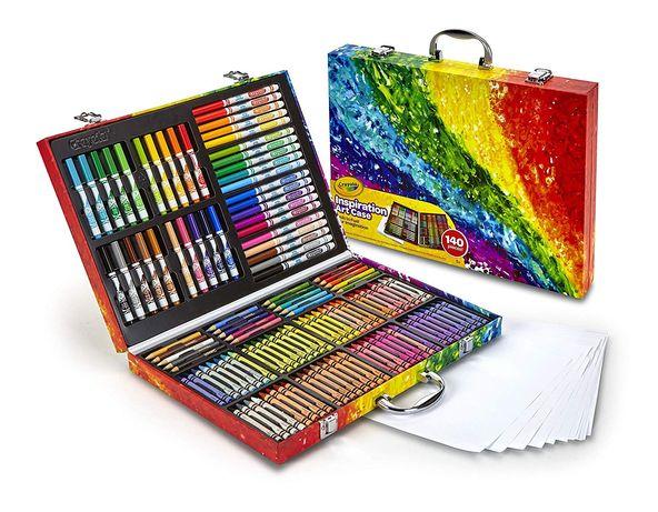 Crayola набор художника чемодан 140 предметов крайола крейола