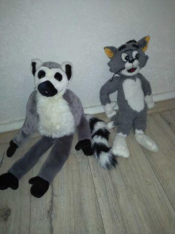 Мягкая , текстильная игрушка Кот Том/ 50 см длина