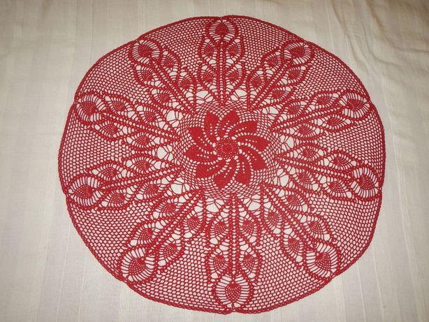 Декоративная салфетка скатерть ручная работа