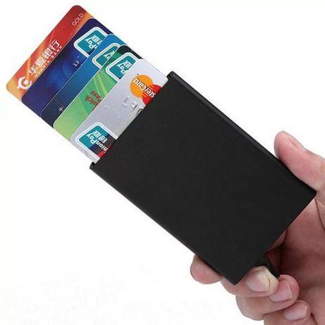 Carteira para cartões , proteção RFID