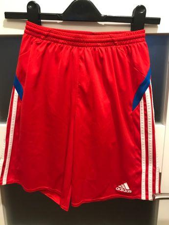 Spodenki sportowe szorty football Adidas 114 lat 164 cm