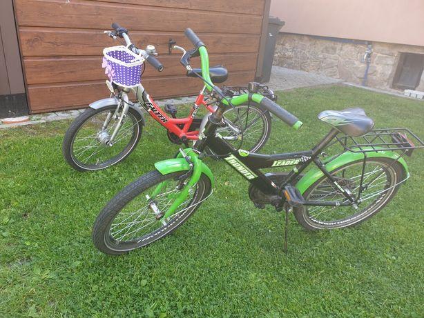 """Dwa rowery dziecięce 20"""""""