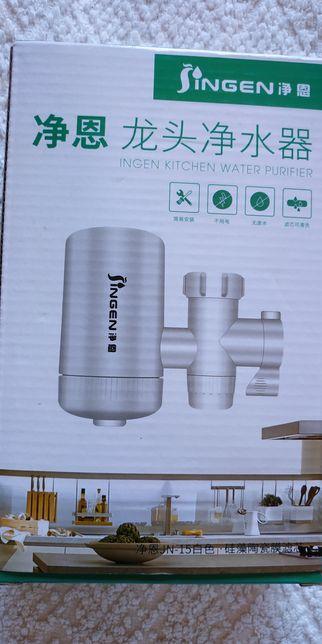 Фильтр для воды на кран! Уникальный! Эффективный! 1+3