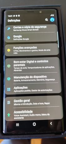 Samsung Galaxy Note 9 preto