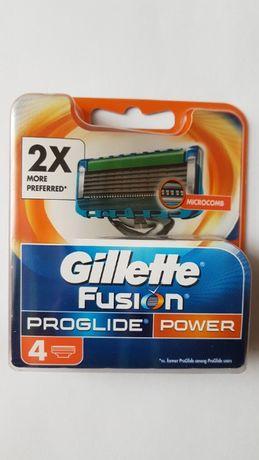 Gillette Fusion Proglide, 4 ostrza