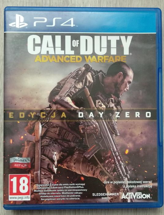 Gra Call of Duty PS4 Orchowo - image 1