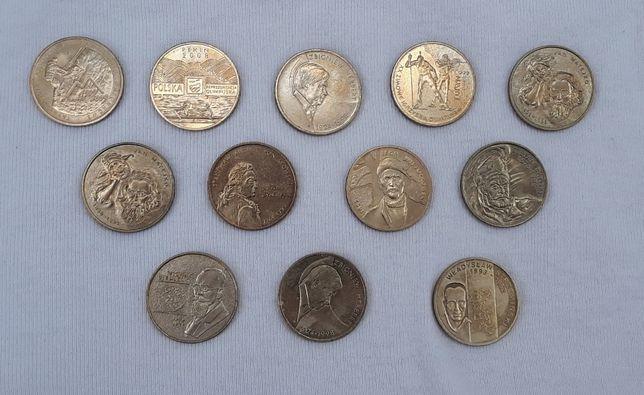 złote oraz srebrne monety