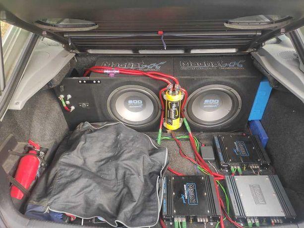 Subwoofery Magnat mega zestaw kondensator 6F 1600W