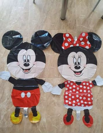 Balões gigantes Mickey e Minnie (portes grátis)