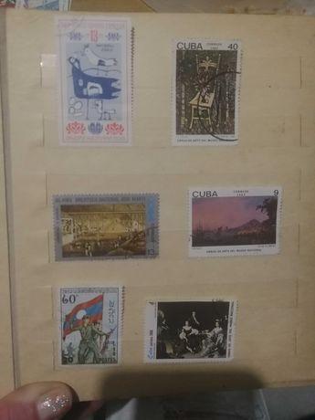 Почтовые марки колекционирование