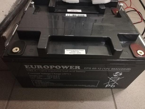 Akumulator EUROPOWER serii EPS 65-12