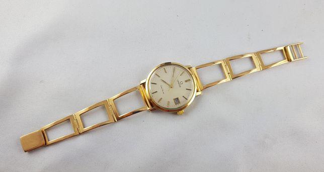 Złota bransoletka pasek do zegarka złoto 18k nie złom  Omega Longines
