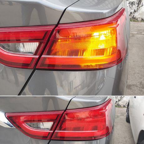 2шт LED для СЕРТИФИКАЦИИ Желтые повороты американские лампы P21W W21W