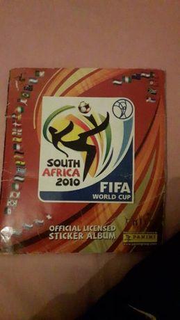 caderneta de cromos completa mundial 2010 Africa