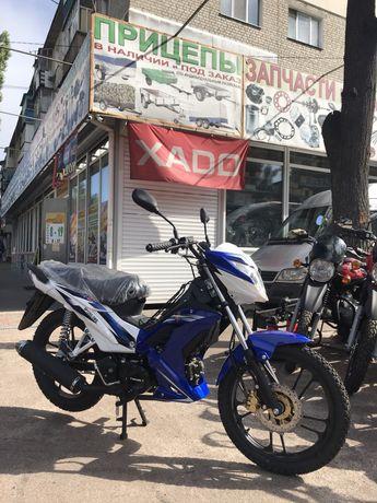 Мотоцикл Spark sp125c-3wq Полуавтомат Новинка Торг Лучшая Цена!