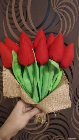 Bukiet tulipanów, prezent, urodziny, imieniny, dzień matki, ojca