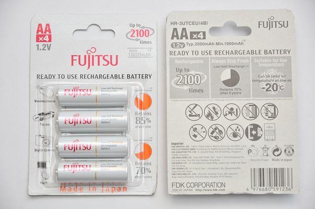 Японские Аккумуляторы Fujitsu-АА2000(min.1900mAh)-Пальчиковые HR-3UTCE