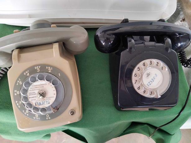 Téléphones fixos antigos